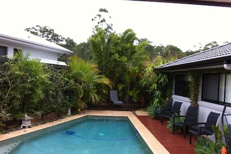 Sunshine Coast Double andTwin rooms - House