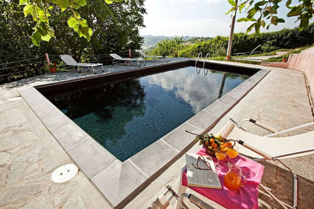 Cascina rosa b&b  - Swimming pool