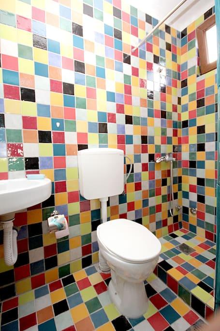 Bathroom of the one-bedroom apartman