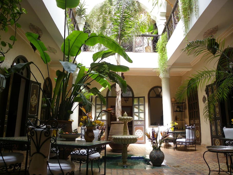 Riad Bamaga, historic district.