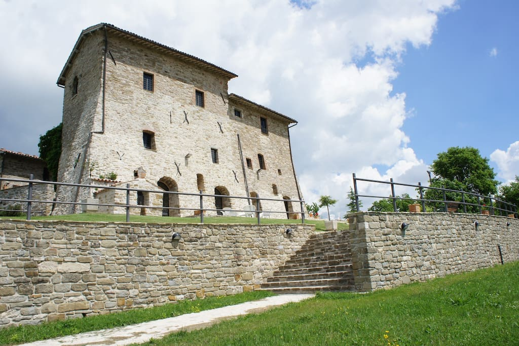 Palazzo Scagliae , Gubbio, Umbria
