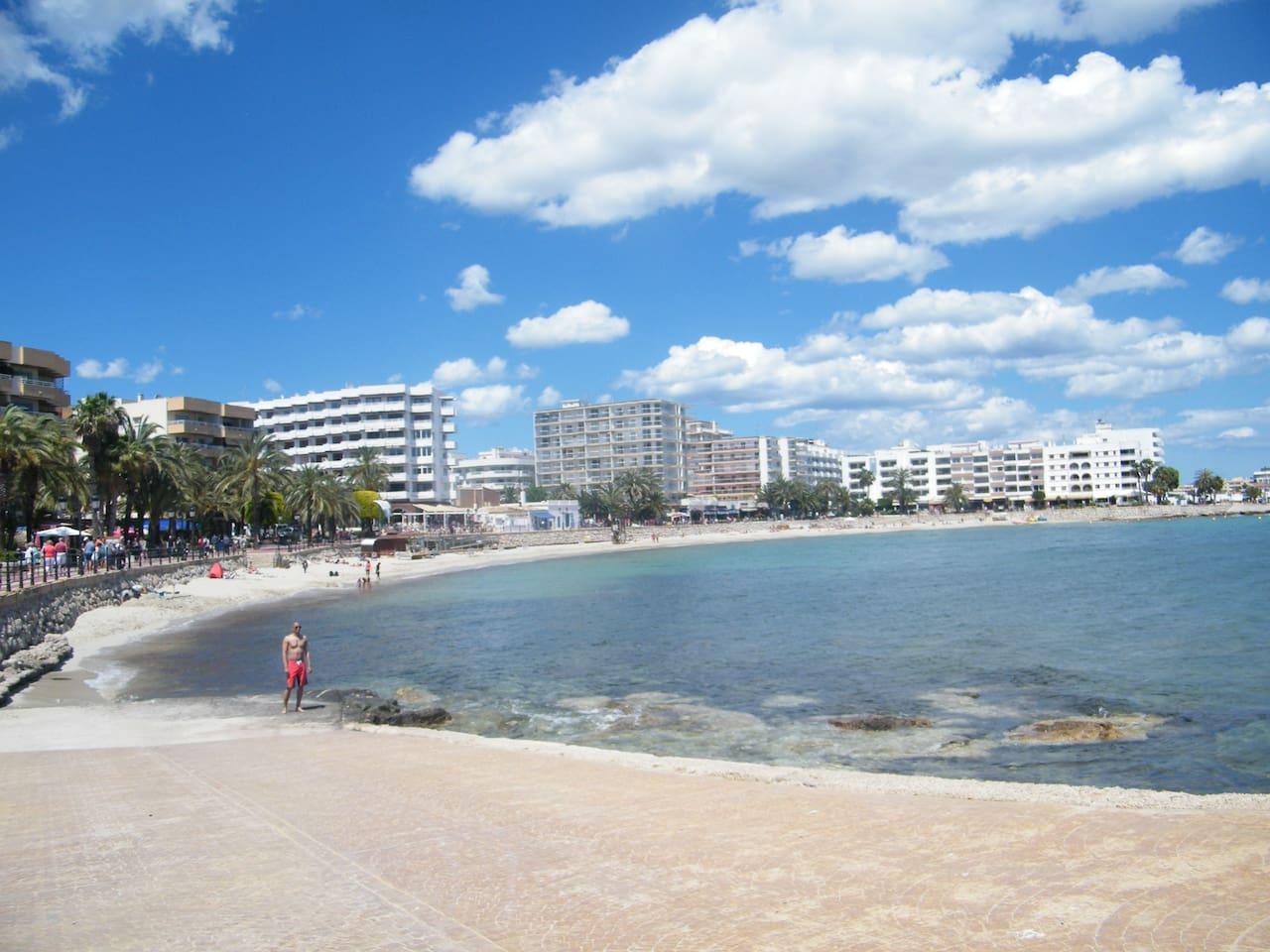 sta. eularia beach