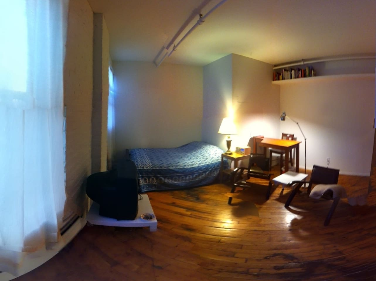 Guest Room Panorama
