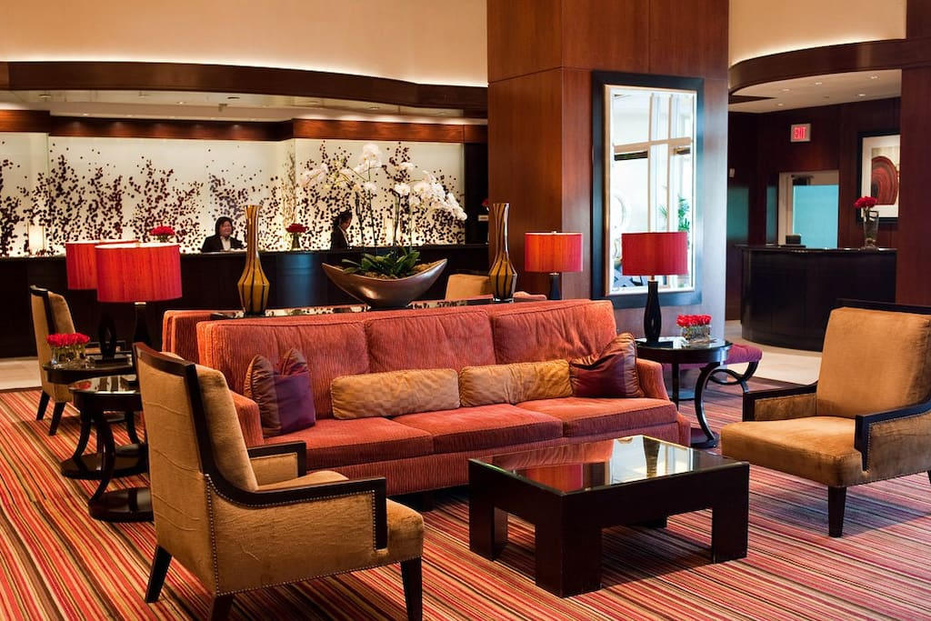 One of Three Lobby Areas at The Signature