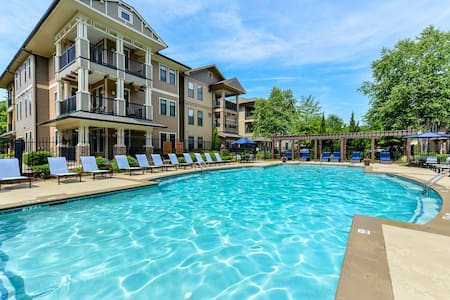 Luxury 2 Bedroom in Johns Creek - Huoneisto