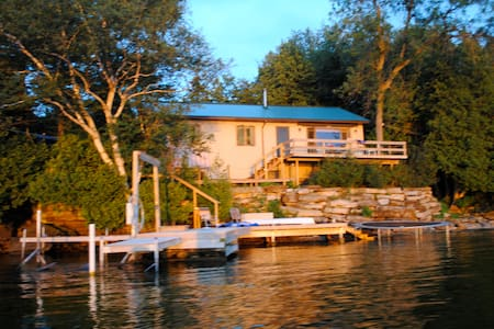 Home on St. Lawrence River NY - House