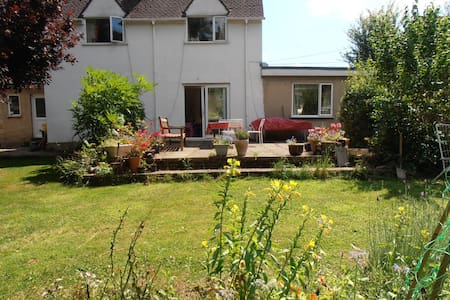 Cosy home, a big garden in Woodchester near Stroud - Gloucestershire - House