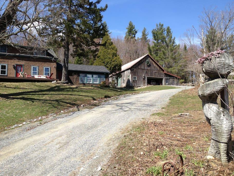 Double Bed 1780 Mountain Farmhouse