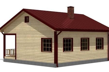 Дом на общей территории с котедждом - Casa