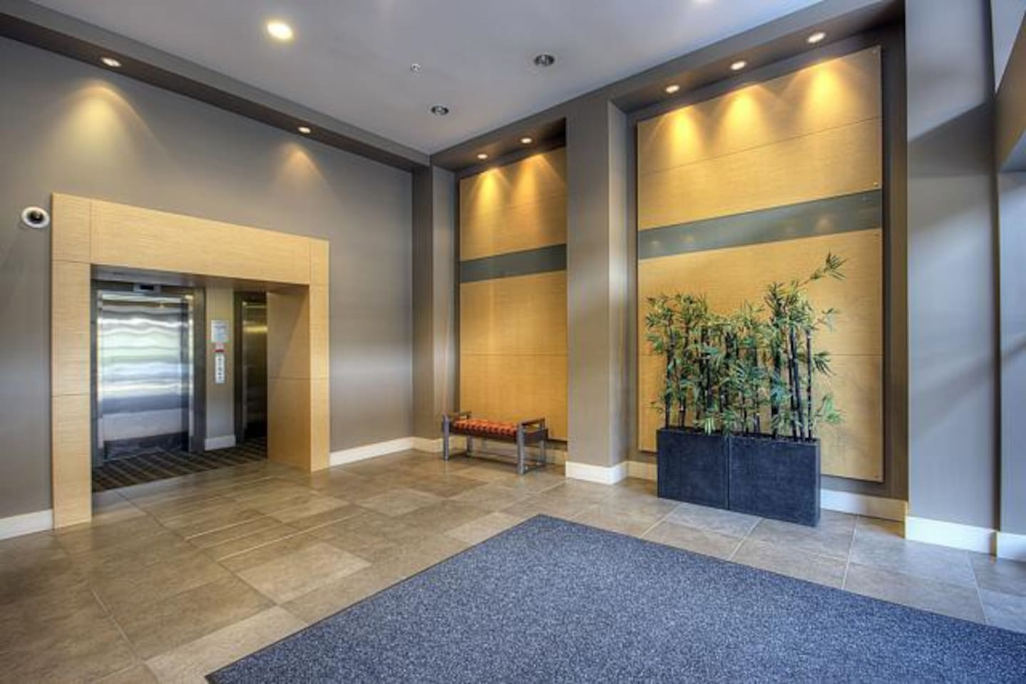 One of the newest buildings in Yaletown, the entrance is exquisite!