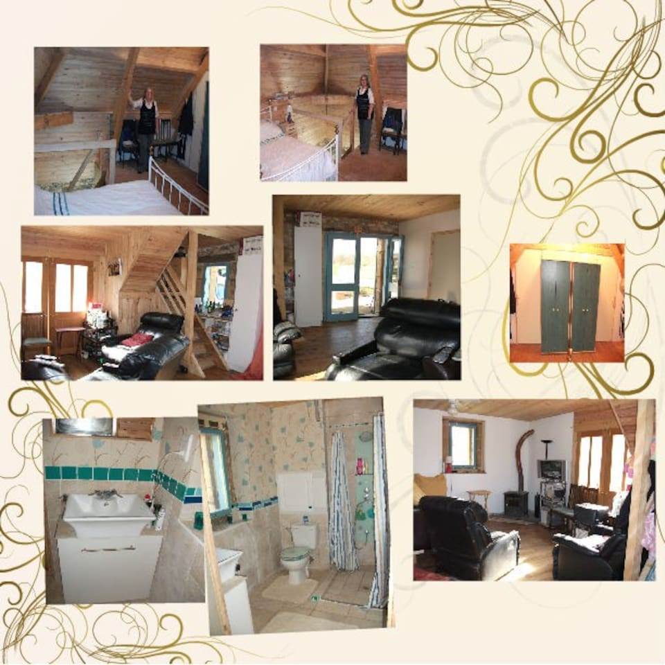 Lounge with double french doors to seating areas/Main bedroom/downstairs shower room