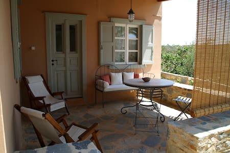 Traditional farmhouse, great sea vi - Syros