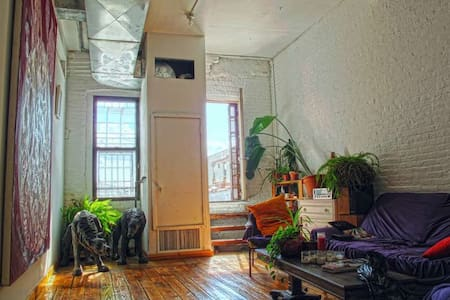 NYC artists' loft with roof deck - Brooklyn - Apartment