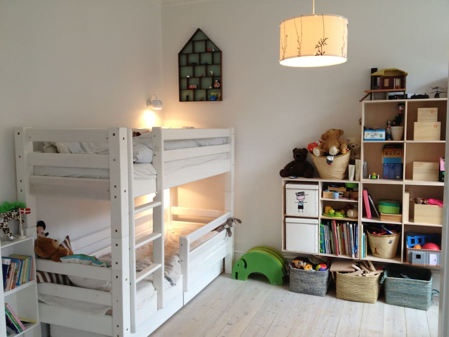 Children room with two beds