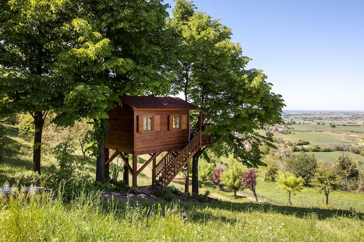 Aroma(n)tica TreehouseinMonferrato - Casa sull'albero