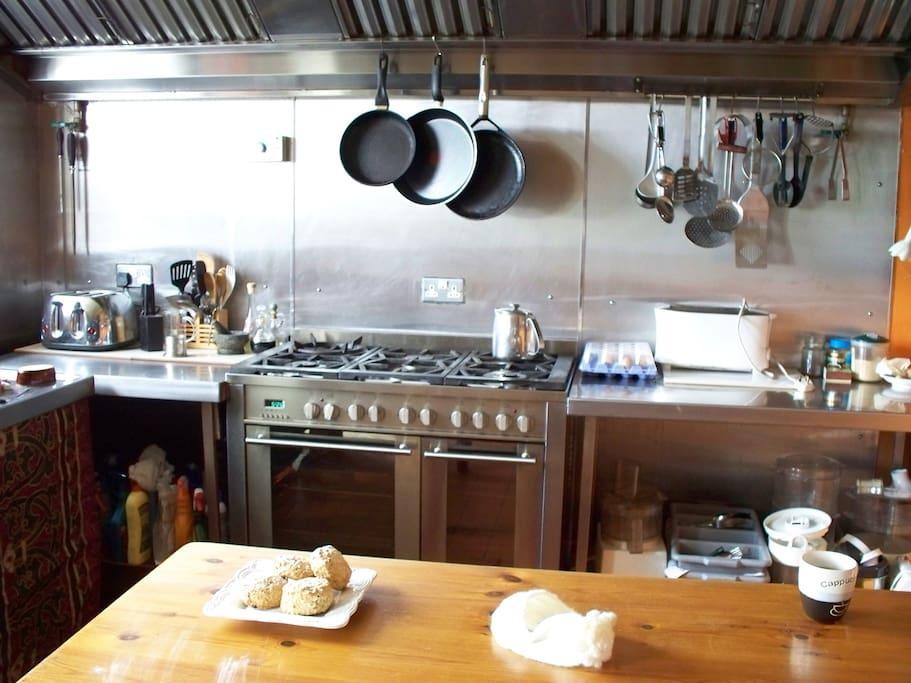 Our Kitchen ....pancakes .....