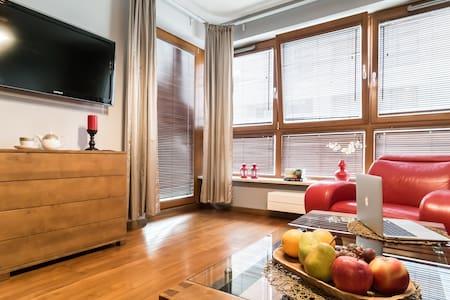 Charming apartment Wilanów LUX, free garage, WiFi - Warszawa - Leilighet
