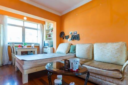 Soft sofa&next to subway15min达静安外滩 - Lägenhet