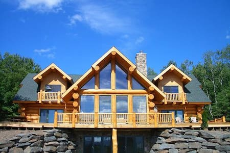 Luxury Log Home with Ski Windham Views - Ev