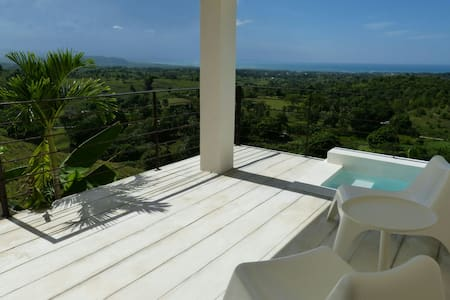 Seaview and mini pool for 2. Ideal for lovers! - Rio San Juan - Villa