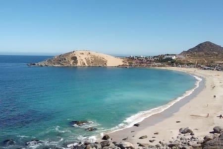 Descanso en Playa Blanca - Tongoy