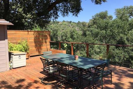 2BR 2BA house with large sunny deck - Soquel - Maison
