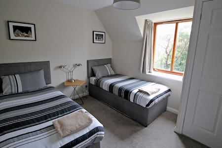 Sligachan Lodge-Twin Bedroom (4) - Casa
