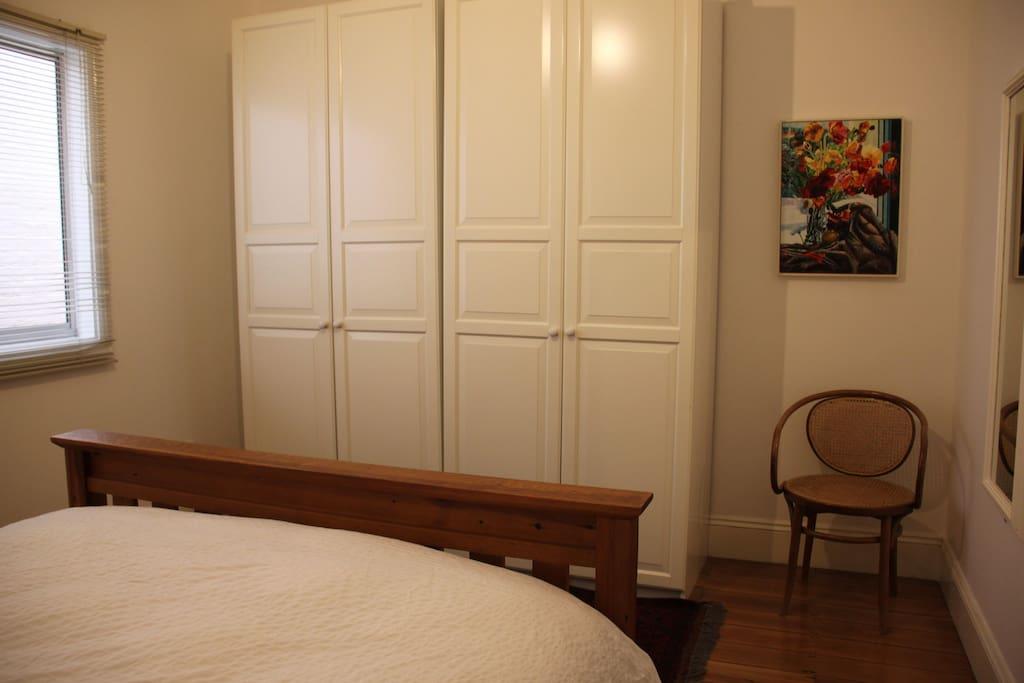 Bedroom #1, main bedroom (off the lounge room)