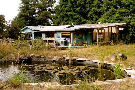 House on the Mendocino Coast