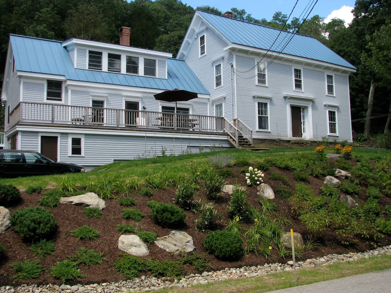Farmhouse near town