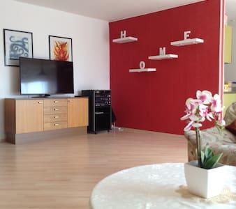 Großzügige Wohnung mit Hallenbad - Apartmen