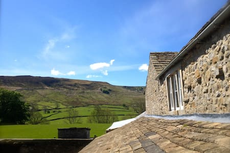 Double Room in Cosy Dales Cottage - North Yorkshire - Casa