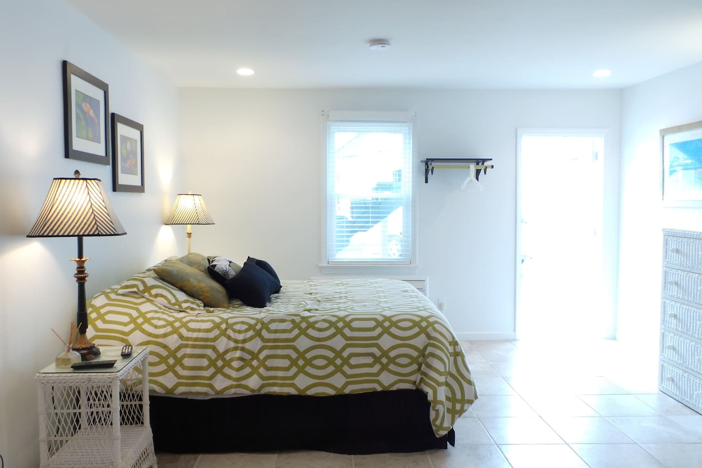 Suite 6 - furnished with a full size kitchen