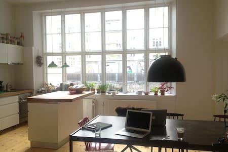 Spacious Vesterbro apartment