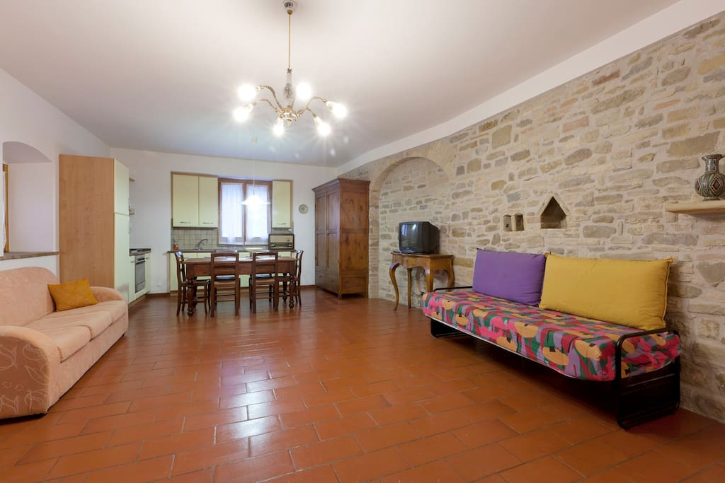 Characteristic flat near Assisi