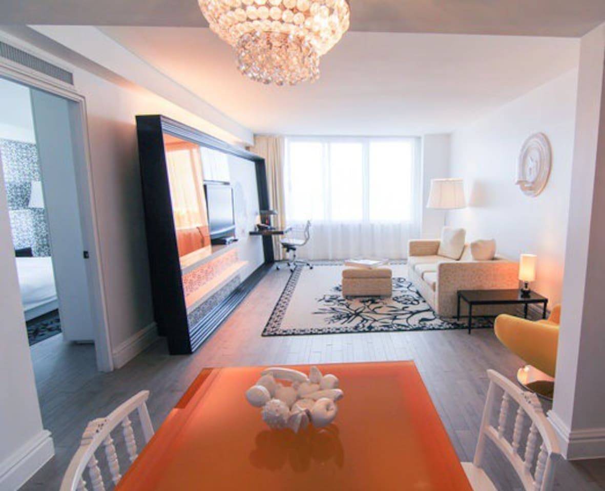 Incredible One Bedroom Suite at the 5 Star Mondrian