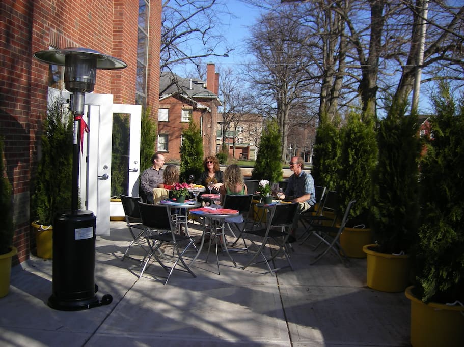 Our patio is well used in the summer