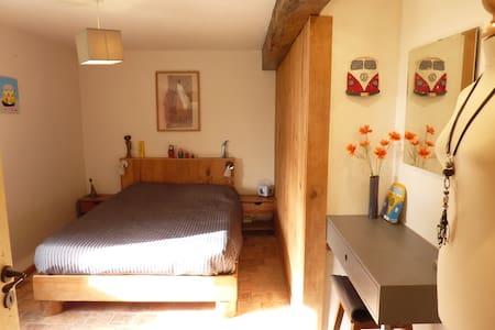 Chambre à la campagne 20 mn Angers - Mozé-sur-Louet - Huis