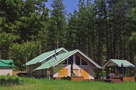 Spectacular Camas Meadows Eco-Lodge - Leavenworth - Cabin