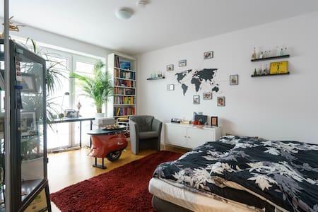 Comfy room in quiet neighbourhood, close to center - Lägenhet