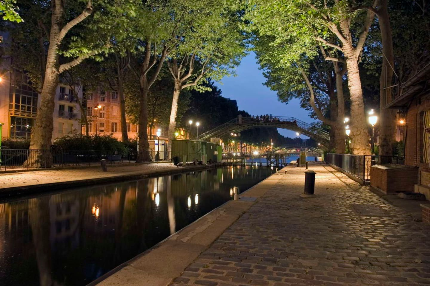 Canal Saint Martin | République | our apartment is at 2 minutes walk distance from here