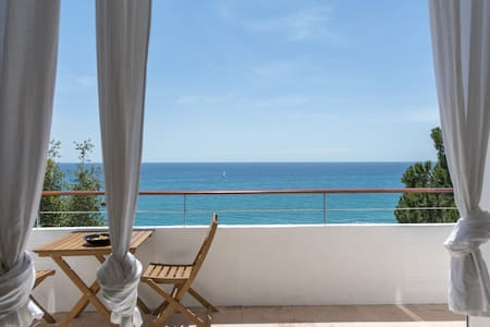 Luxury loft at sea front in Canet
