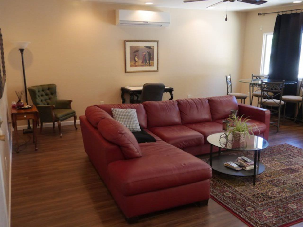 Quiet foothills apartment