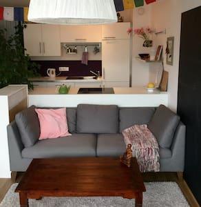 Gemütliche neue Wohnung im Zentrum mit Bergblick - Apartment