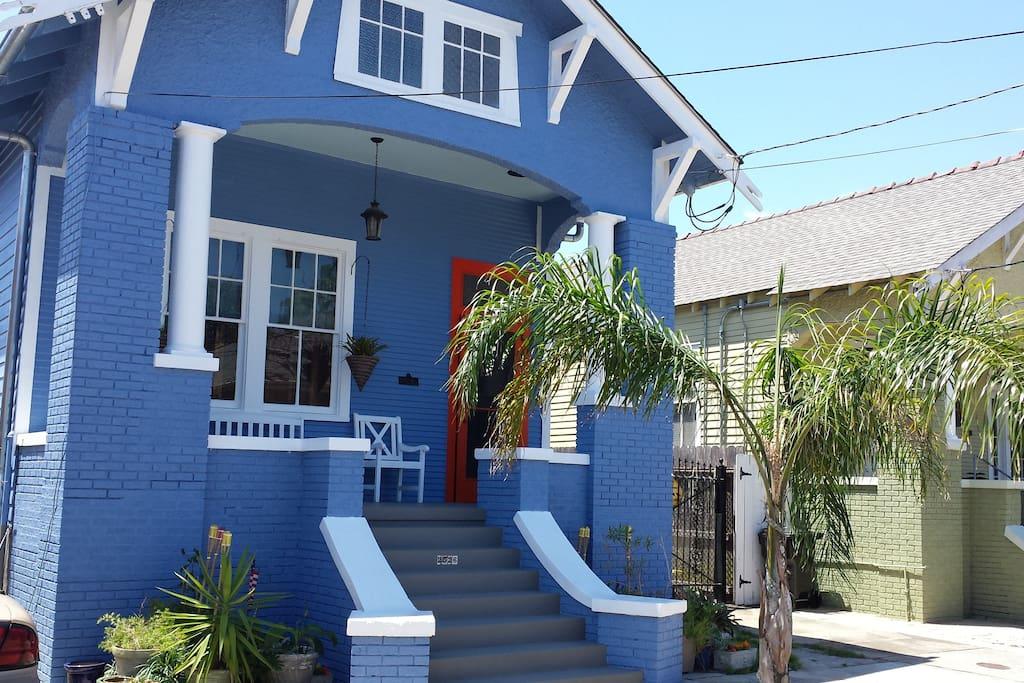 New true blue house color