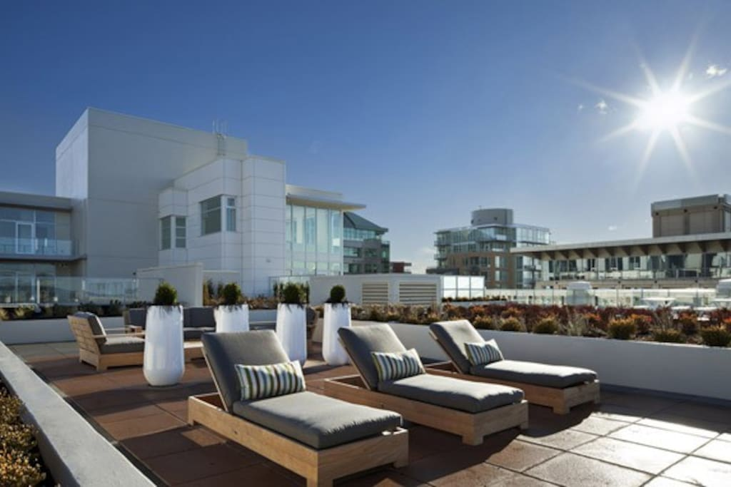 Roof top space that you will have access to