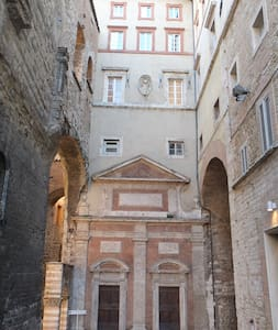 Lovely apartment center of Perugia - Perugia - House