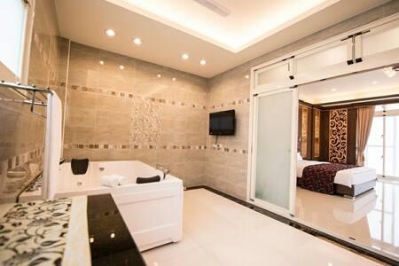寬頻極緻Villa雙人輕旅行獨立套房 - Gästehaus