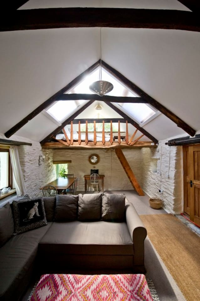 Lovely private mill barn conversion