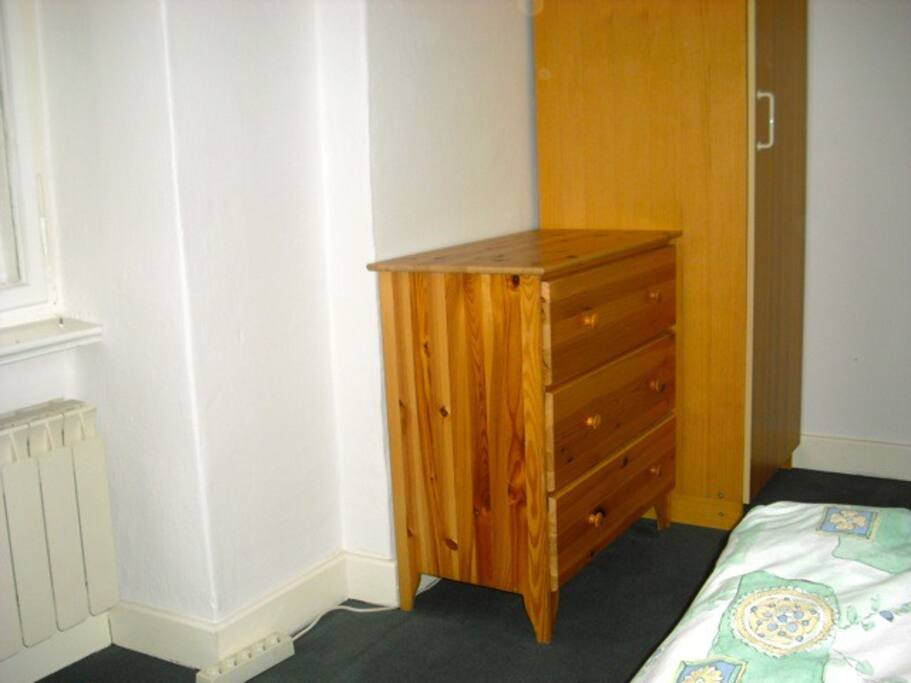 closet and commode